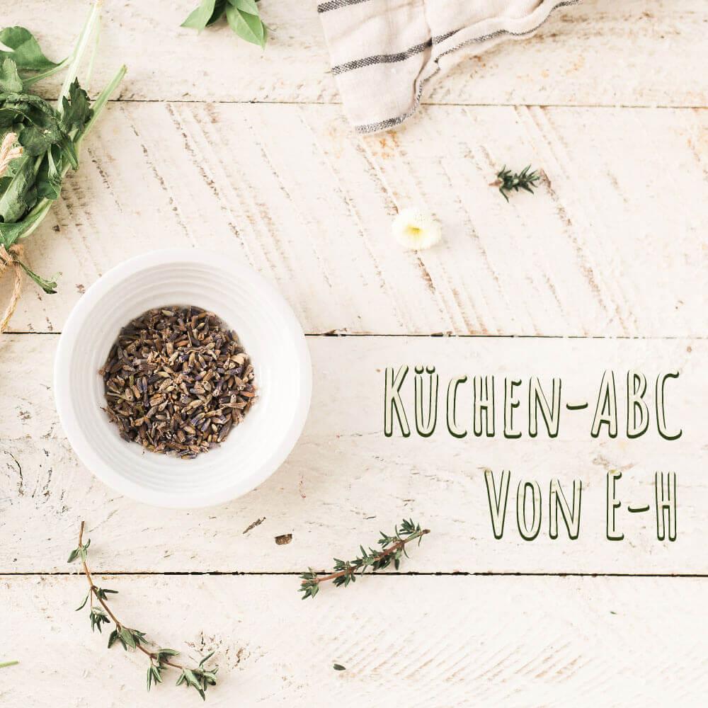 Küchen-ABC von E-H